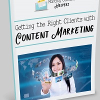 Getting the Right Clients with Content Marketing eBook