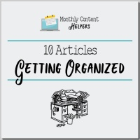 Getting Organized PLR Articles